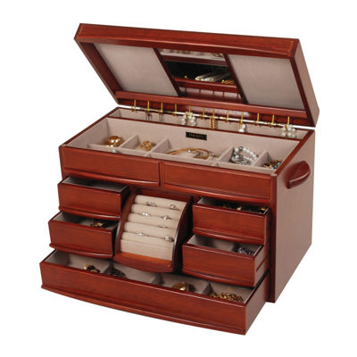 $149.99 sale  sc 1 st  JCPenney & SALE Jewelry Boxes u0026 Armoires for Jewelry u0026 Watches - JCPenney Aboutintivar.Com
