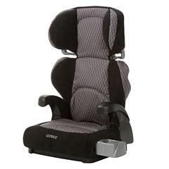 Cosco® Pronto™ Belt-Positioning Booster Car Seat - Linked Black