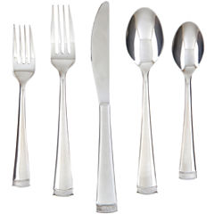 Farberware® Poppy Mirror/Pebble 20-pc. Flatware Set