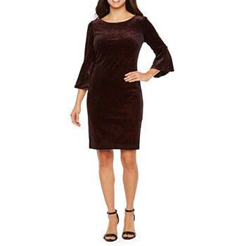 d1ba9afb8623c Jessica Howard 3/4 Sleeve Dresses for Women - JCPenney