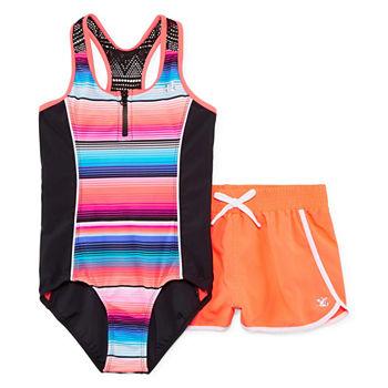 3d7a51f316c Zeroxposur Plus Size Swimsuits for Shops - JCPenney