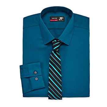 a4b27cb08ef5 Slim Fit Shirt + Tie Sets Shirts for Men - JCPenney