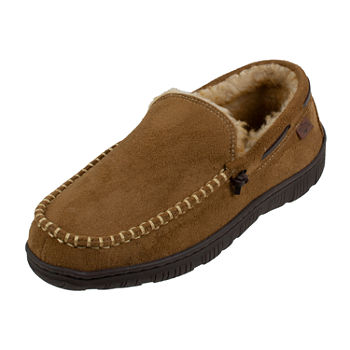 Dockers® Rugged Collection Faux Fur Moccasin Slippers