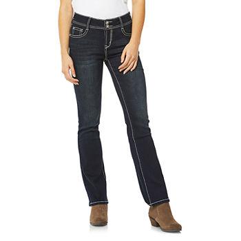 c9d41a1bb68 Wallflower Womens Mid Rise Skinny Fit Jean - Juniors. Add To Cart. Few Left