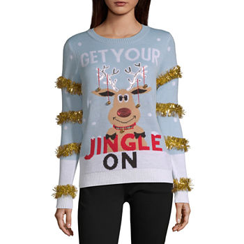 9527bdaecc Christmas Sweaters: Ugly & Tacky Xmas Sweaters - JCPenney