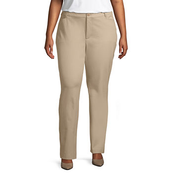e3d3cc5e0b9 Plus Size Trousers Pants for Women - JCPenney