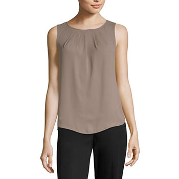 6ac57c8961751 Sleeveless Blouses Tops for Women - JCPenney