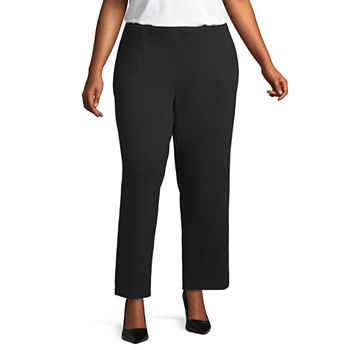 dad3cd88f4 Plus Size High Rise Pants for Women - JCPenney