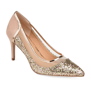 Journee Collection Womens Kalani Pumps Stiletto Heel