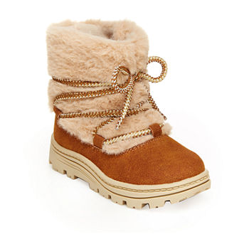 Carter's Toddler Girls Moane Winter Boots Flat Heel