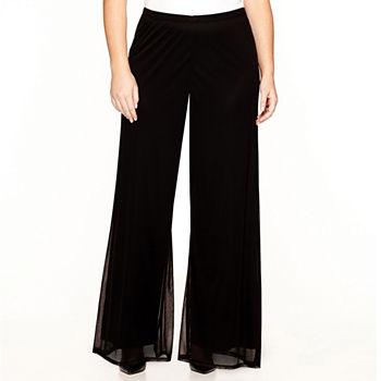 716996d95a4 Prelude Wide-Leg Mesh Pants - Plus