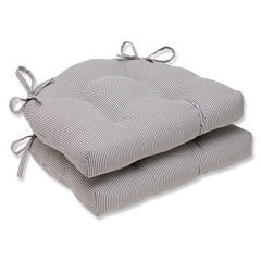 Pillow Perfect - Indoor Chair Pads Dining Cushion