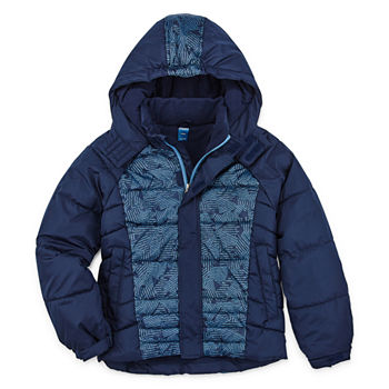 ADIDAS BABY WINTER Teddy Jacket Boys Cosy Jacket Thick Lined