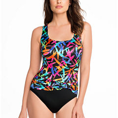 Robby Len By Longitude Confetti One Piece Swimsuit