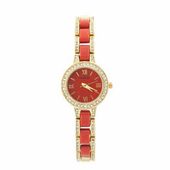 Geneva Womens Gold Tone Bracelet Watch-Jcp2959