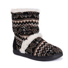 Muk Luks Holly Bootie Slippers