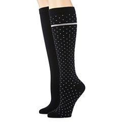 Mixit 2-pc. Knee High Socks - Womens