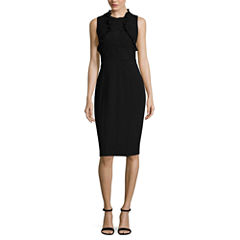 Nicole By Nicole Miller Sleeveless Sheath Dress