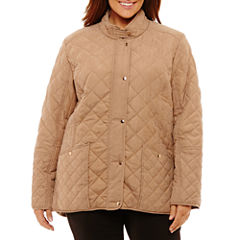 KC Collections Quilted Jacket-Plus