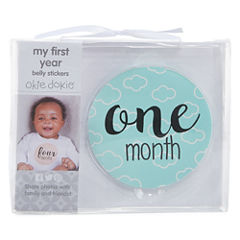Okie Dokie Milestone Belly Stickers Baby Milestones - Unisex