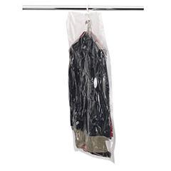 Household Essentials Large Hanging Garment VacuumStorage Bag