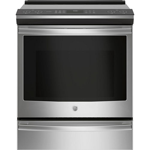 GE Profile™ Series 30 Slide-In Front Control Induction and Convection Range