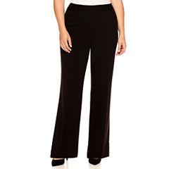 Liz Claiborne® Curvy Elizabeth Secretly Slender Bootcut Leg Pants-Plus