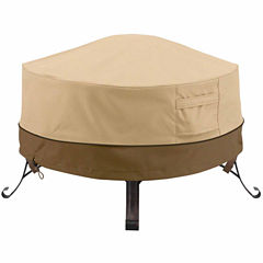 Classic Accessories® Veranda Round Full Coverage Fire Pit Cover Small
