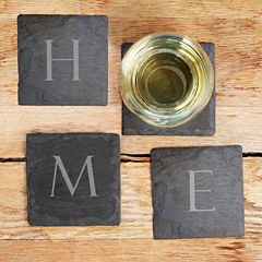 Cathy's Concepts Home Sweet Home 4-pc. Coasters
