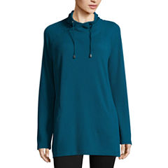 St. John's Bay Active Tunic Top