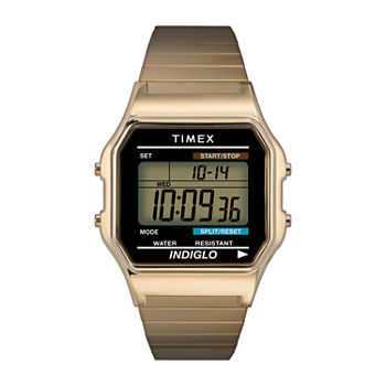 Timex® Mens Two-Tone Core Digital Watch T786779J