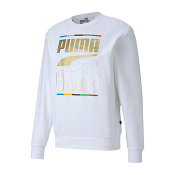 Puma Rebel Mens Crew Neck Long Sleeve Sweatshirt