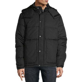 St. John's Bay Microfiber Heavyweight Puffer Jacket