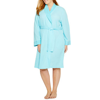 57b71ae7ef Adonna Womens Knit Robe Long Sleeve Mid Length. Add To Cart. Only at JCP