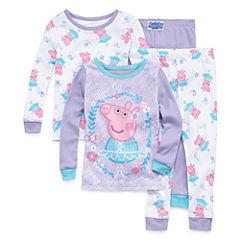 4-pc. Peppa Pig Pajama Set Girls