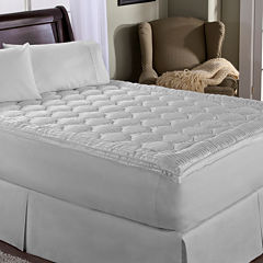 Perfect Fit Luxury Stripe Mattress Pad