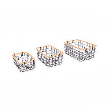 Baum Wire And Jute Baskets