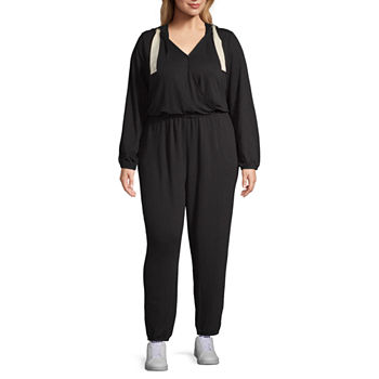 d3748f819b53 CLEARANCE Plus Size Jumpsuits   Rompers for Women - JCPenney