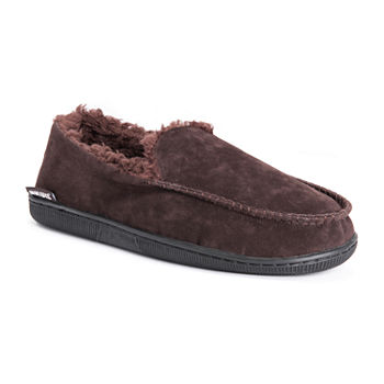 MUK LUKS® Faux Suede Moccasin Slippers