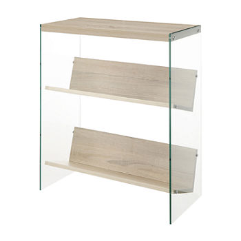 Soho Office Collection 2-Shelf Bookcase