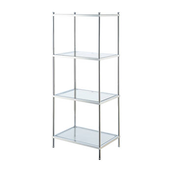Convenience Concepts Royal Crest 4-Tier Tower Bookcase
