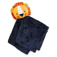Okie Dokie® Plush Lion Snuggle Buddy Blanket