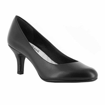 13a430d5247 Easy Street Womens Eloise Pumps Slip-on Round Toe Block Heel · (4). Add To  Cart. wide width available