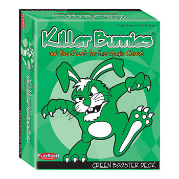 Playroom Entertainment Killer Bunnies and the Quest for the Magic Carrot: Green Booster Deck (6)