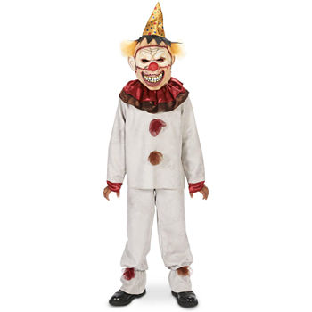 Scary The Carnival Clown With Mask Child Costume Boys Costume Boys Costume