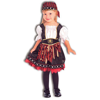 Lil Pirate Cutie Toddler Girls Costume Girls Costume