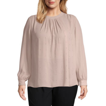 Plus Size Blouses Tops For Women Jcpenney