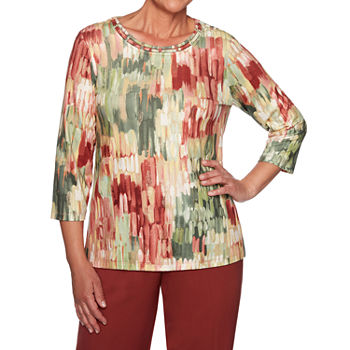 new arrivals c289e 2a6ab Alfred Dunner Pants, Tops, Petites