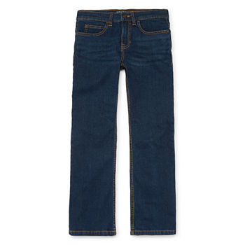 Arizona Flex Little & Big Boys Bootcut Relaxed Fit Jean