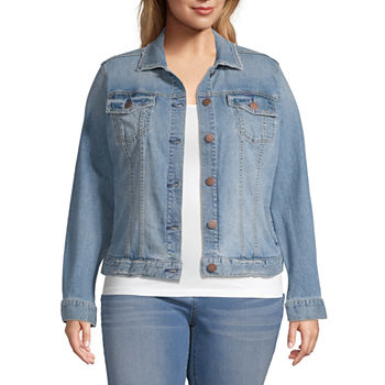 a.n.a-Plus Womens Lightweight Denim Jacket